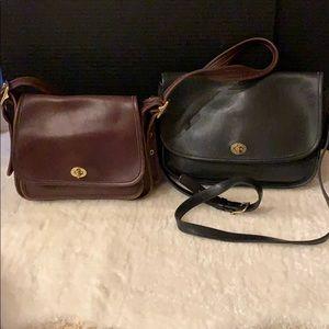 2 Coach Vintage Bags